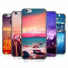 HEAD CASE DESIGNS WORDS TO LIVE BY 4 HARD BACK CASE FOR APPLE iPHONE PHONES