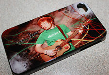 Custom Ed Sheeran apple iphone 4 4s 5 5s 5c 6 6+ Back case cover clip on