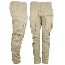 G-Star Raw Cargo Hose Rovic Zip 3D Tapered Pants beige D02190 5126 239