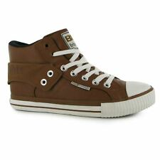 British Knights Roco Fold Trainers Mens Chestnut/Black Casual Sneakers Shoes