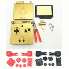 GBA SP Game Boy Advance SP Replacement Housing Shell Zelda Triforce BUTTONS!