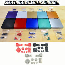 GBA SP Game Boy Advance SP Replacement Housing Shell Pick A Color BUTTONS!