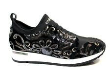 CAFeNOIR LDL901 Nero Sneakers Scarpe Donna Comode Fashiom