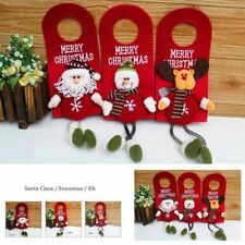 Xmas Tree Santa Claus Snowman Hanging Ornament Christmas Home Party Decoration A