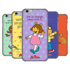 OFFICIAL ARTHUR CHARACTERS HARD BACK CASE FOR APPLE iPHONE PHONES