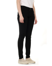 Levis Ladies 711 Skinny Fit Jeans - Black Sheep