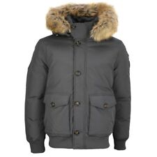 Tommy Hilfiger Winter Jacke grau Hampton Down Bomber 03388 016
