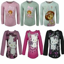 Niñas Dora The Explorer Hello Charmmy Kitty Camiseta de manga larga