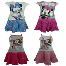 Bambina Disney Minnie Mouse set manica corta Maglietta & Gonna 3-8 anni
