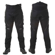 RAYVEN LAGUNA BLACK WATERPROOF MOTORCYCLE MOTORBIKE BIKE TROUSERS PANTS