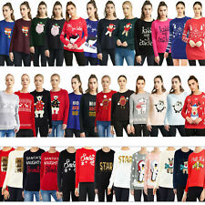 Brave Soul Womens Novelty Christmas Jumpers Or Dresses Ladies Festive Fun Tops