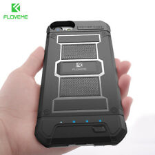 Battery Charger Case For iPhone 8 7 Power Bank Armor Portable External FLOVEME..