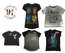 PRIMARK Ladies Official HARRY POTTER T shirt Tee *VARIOUS DESIGNS AVAILABLE*