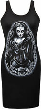 LAST ONE!! LADIES BLACK DRESS REDUCED!! DEMONS DEMONIC NUN RELIGIOUS SINNER GOTH