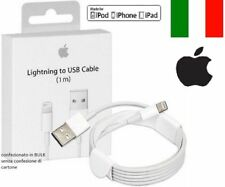 CAVO DATI USB per Apple IPHONE 5 5S 6S 6 Plus 7 RICARICA IPAD 4 IPOD ORIGINALE