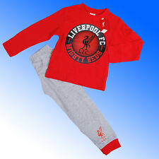Boys Authentic Official Liverpool FC #LFC Badge Pyjamas Age 4-12 Years