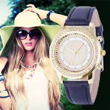 Women Bracelet Wristwatch ladies Crystal Geneva Watches Stainless Steel Quartz..