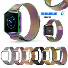 Milanese Magnetic Loop Replacement Strap Watch Band For Fitbit Blaze Tracker HOT