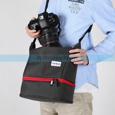 YINGNUOST Y45 DSLR Camera Waterproof Shoulder Messenger Bag For Canon Nikon【UK】