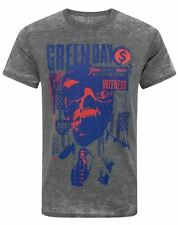 Green Day Revolution Radio Burn Out Men's T-Shirt
