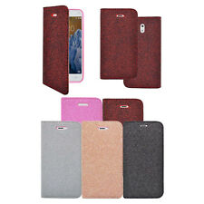 Nokia 3 Magnetic Glitter Wallet Book-flip In Various Colours Case Cover