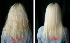BRAZILIAN KERATIN STRAIGHTENING HAIR TREATMENT KIT+SALT FREE SHAMPOO+CONDITIONER