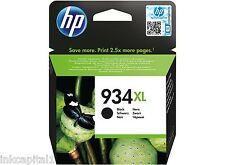 HP NO 934xl Negro Original Oem Cartucho de Tinta C2P23AE Officejet Pro