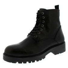Womens Vagabond Kenova Black Leather Military Combat Winter Ankle Boots UK 3-9
