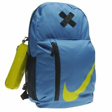 Nike Element Backpack With Pencil Case Blue Sports Gym School Bag Rucksack