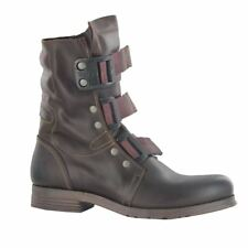 Fly London Stif Rug Dark Marron Femmes Bottes Pointure