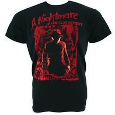 A Nightmare On Elm Street Freddy Silhouette Camiseta Oficial Con licencia Movie