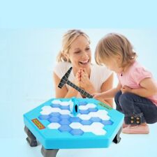 Save The Penguin Interactive Game Break Ice Block Hammer Penguin Trap Game Toy