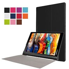 Smart Cover Case Stand for Lenovo Yoga TAB3 Plus 10.1 YT-X703 Tablet + Extras
