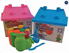 MODELLING CLAY PLASTICINE PLAY DOUGH HOUSE - PINK OR BLUE GREAT STOCKING FILLER