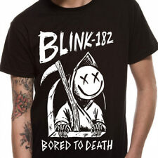 Blink 182 - Bored To Death T Shirt Size:S,XL - NEW & OFFICIAL