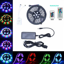 5/10m RGB 600 Tira de Luces Led 3528 5050 SMD flexible 24/44keys a distancia