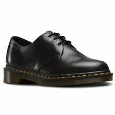Dr.Martens 1461 3 Eyelet Gunmetal Mens Leather Lace-up Derby AirWair Shoes