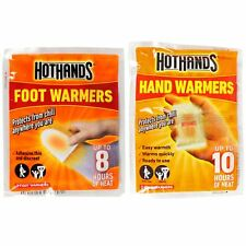 Hothands Pocket Hand Warmer Foot Insole Warmer Disposable 1 Pair or Multi Pack