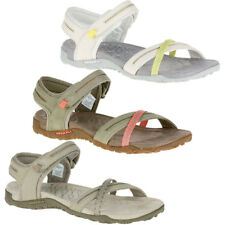 Merrell Womens/Ladies Terran Cross II Leather Slingback Sandals