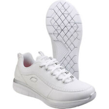 Skechers Womens/Ladies Synergy 2.0 Leather Athletic Trainers Shoes