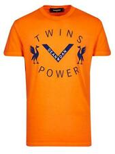 DSQUARED T-Shirt S71GD0513S21600 orange 100% Baumwolle / Cotton