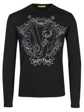 VERSACE JEANS COUTURE Pullover B5GOB834 schwarz