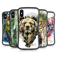 OFFICIAL RIZA PEKER ANIMALS HYBRID CASE FOR APPLE iPHONES PHONES