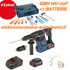 KIT BOSCH MARTELLO PERFORATORE  GBH 18V-26F GBH 36VF-LI PLUS BATTERIA L-BOXX
