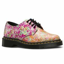Dr.Martens Smiths Daze Multi Womens Floral Derby Shoes