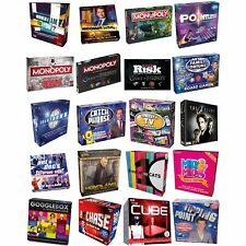 TV SHOW BOARD GAMES FAMILY CHILDREN ADULTS PARTY - LOTS TO CHOOSE - NEW & SEALED
