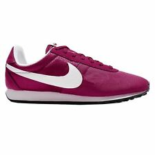 Nike Pre Montreal Racer Vintage Sport Fuchsia White Womens Casual Laced Trainers