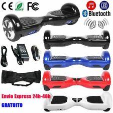 Scooter Patinete Eléctrico Hoverboard Skateboard Bluetooth 30km/h Bolso LU