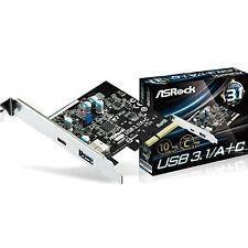 NEW! Asrock Usb3.1 A/C Pcie Controller Card