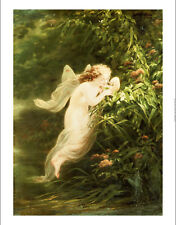 """FRITZ ZUBER-BUHLER """"Spirit Of Morning"""" nude print choose SIZE, from 55cm up, NEW"""
